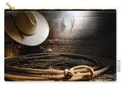 Lasso In Old Barn Carry-all Pouch