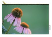 Last Bit Of Sunlight - Cone Flower - Casper Wyoming Carry-all Pouch
