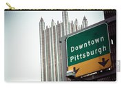 Last Exit Pittsburgh Carry-all Pouch