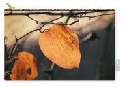 Last Leaves Carry-all Pouch