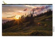 Last Light At Cedar Carry-all Pouch by Chad Dutson