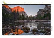 Last Light At Valley View Carry-all Pouch