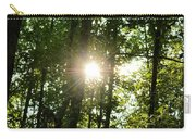 Last Light In The Forest Carry-all Pouch