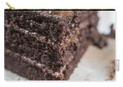 Last Piece Of Chocolate Cake Carry-all Pouch by Edward Fielding