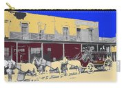 Last Stage To Tombstone Arizona Old Modoc 1903-2013 Carry-all Pouch