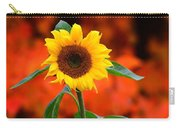Last Sunflower Horizontal Carry-all Pouch