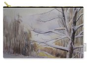 Last Winter Sunset Snow Scene Carry-all Pouch