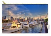 Late Afternoon At Constitution Marina - Charlestown Carry-all Pouch by Joann Vitali