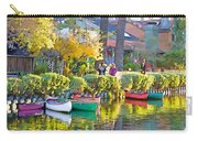 Late Afternoon Stroll Carry-all Pouch by Chuck Staley
