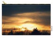 Late April Nebraska Sunset Carry-all Pouch