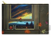 Late Autumn Breeze By Christopher Shellhammer Carry-all Pouch