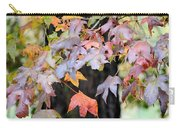 Late Autumn Maples Carry-all Pouch