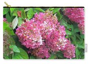 Late Hydrangea Flower Carry-all Pouch
