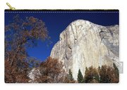 Late Light On Face Of  El Capitan Carry-all Pouch