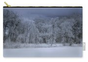 Late Snow At The Rio Grande Carry-all Pouch