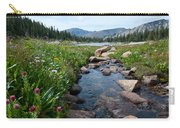 Late Summer Mountain Landscape Carry-all Pouch