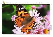 Late Summer Painted Lady Carry-all Pouch