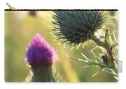 Late Summer Thistle - 2 Carry-all Pouch