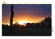 Late Sunset And Tree Carry-all Pouch