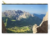 Latemar Mount From Vaiolon Pass Carry-all Pouch