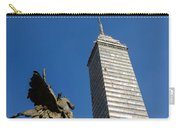 Latin American Tower And Statue Carry-all Pouch