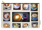 Latte Art Collage Carry-all Pouch