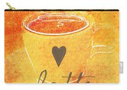 Latte Carry-all Pouch by Linda Woods