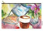 Latte Macchiato In Italy 01 Carry-all Pouch by Miki De Goodaboom