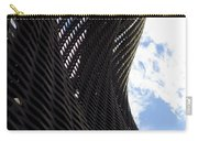 Lattice With Blue Sky And Clouds Carry-all Pouch