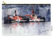 Lauda Vs Hunt Brazilian Gp 1976 Carry-all Pouch