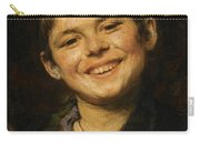 Laughing Boy Carry-all Pouch