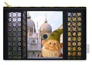 Laughing Gnome In Venice Carry-all Pouch