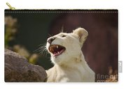 Laughing Lioness Carry-all Pouch