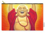 Laughing Rainbow Buddha Carry-all Pouch by Sue Halstenberg