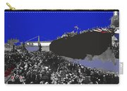 Launching Uss Arizona June 19 1915 Brooklyn Naval Yard Color Added 2013  Carry-all Pouch