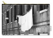 Laundry IIi Black And White Venice Italy Carry-all Pouch