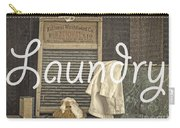 Laundry Room Sign Carry-all Pouch