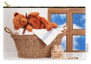 Laundry With Teddy Carry-all Pouch