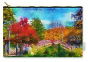 Laura Bradley Park 1922 Japanese Bridge 02 Carry-all Pouch