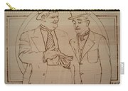 Laurel And Hardy - Thicker Than Water Carry-all Pouch