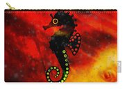 Lava Loving Seahorse Carry-all Pouch