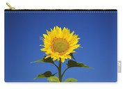 Laval, Quebec, Canada Sunflower Carry-all Pouch