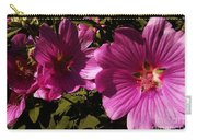 Lavatera - A Study In Pink Carry-all Pouch