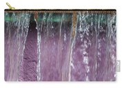 Lavendar Falls Carry-all Pouch