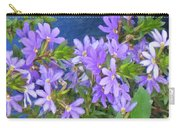 Lavendar Melody Carry-all Pouch