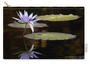 Lavendar Reflections In The Lake Carry-all Pouch