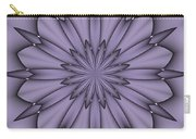 Lavender Abstract Flower Carry-all Pouch