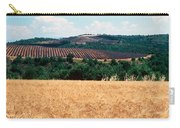 Lavender And Corn Fields In Summer Carry-all Pouch