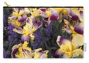 Lavender And Irises Carry-all Pouch