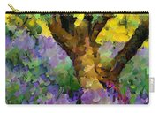 Lavender And Olive Tree Carry-all Pouch